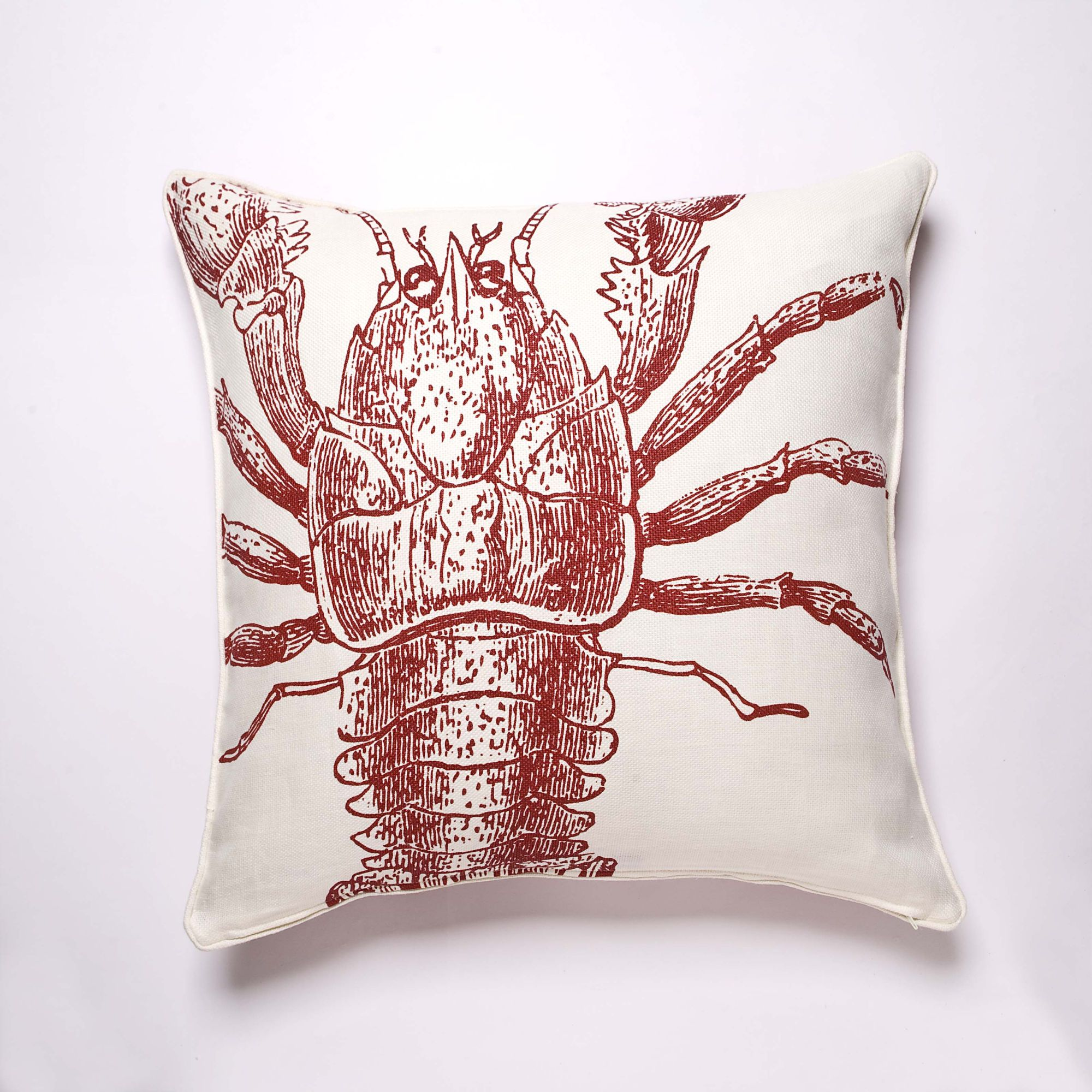 Lobster Pillow by Thomas Paul  #JoesCrabShack #JoesMaineEvent
