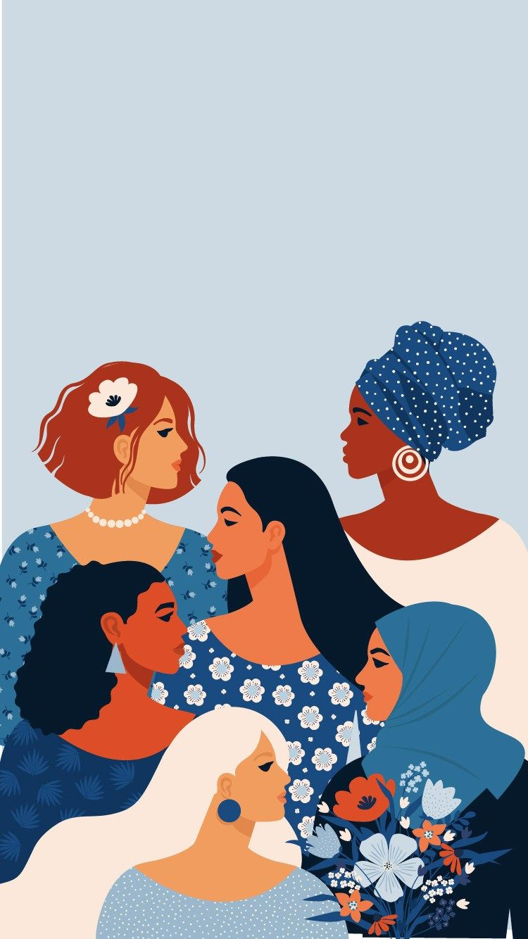 This International Women's Day celebrate the women in your life. By sending them a women empowerment card or gift. These women's day decorations, phon.