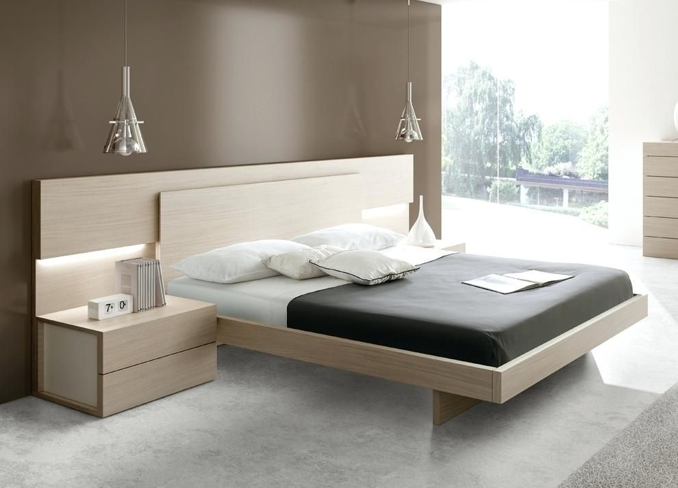 Modern King Size Bed Contemporary Bed Bed Design Modern Remodel