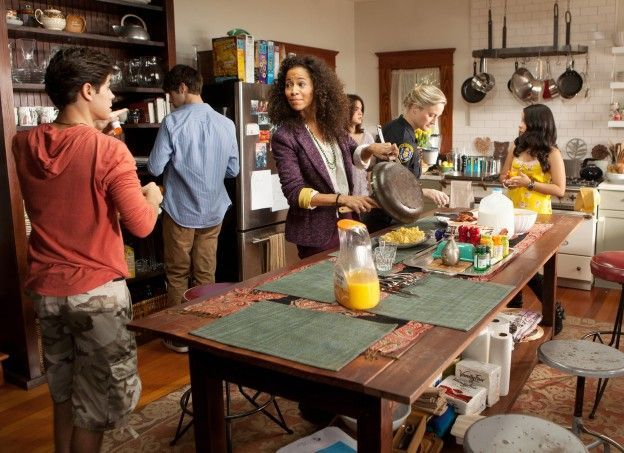 The Fosters Kitchen Google Search Foster House The Fosters Abc Family