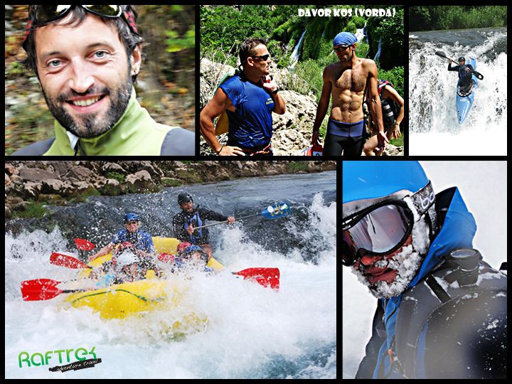 The story is very simple. Davor came on one of Croatia's rafting trips in 1994 and several years later he started his own company called Raftrek. His extensive experience has been gathered on the world famous rivers grade IV and V and brought him an IRF license - International Rafting Federation. A great team work took him on two World Championships and several European championships in rafting.