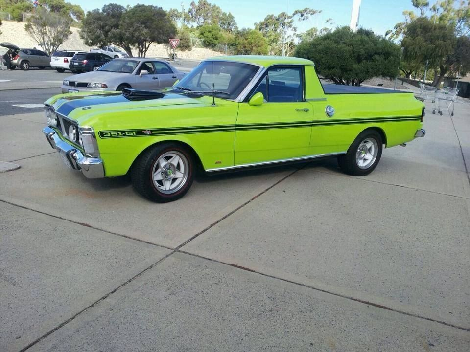 Xy Falcon Ute Aussie Muscle Cars Hot Rods Cars Muscle Ford Falcon