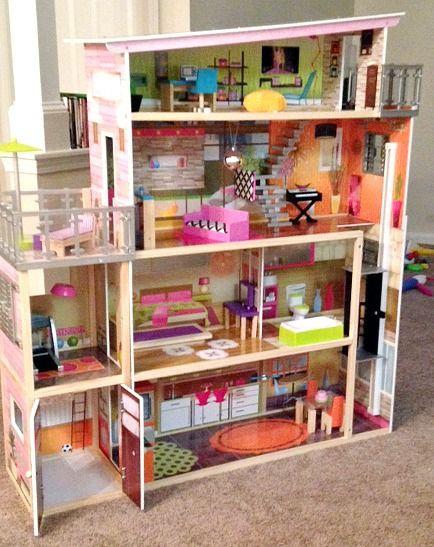 Kidkraft Dollhouse Soho Townhouse Review I Love My Kids Blog Kidkraft Dollhouse Best Doll House Doll House