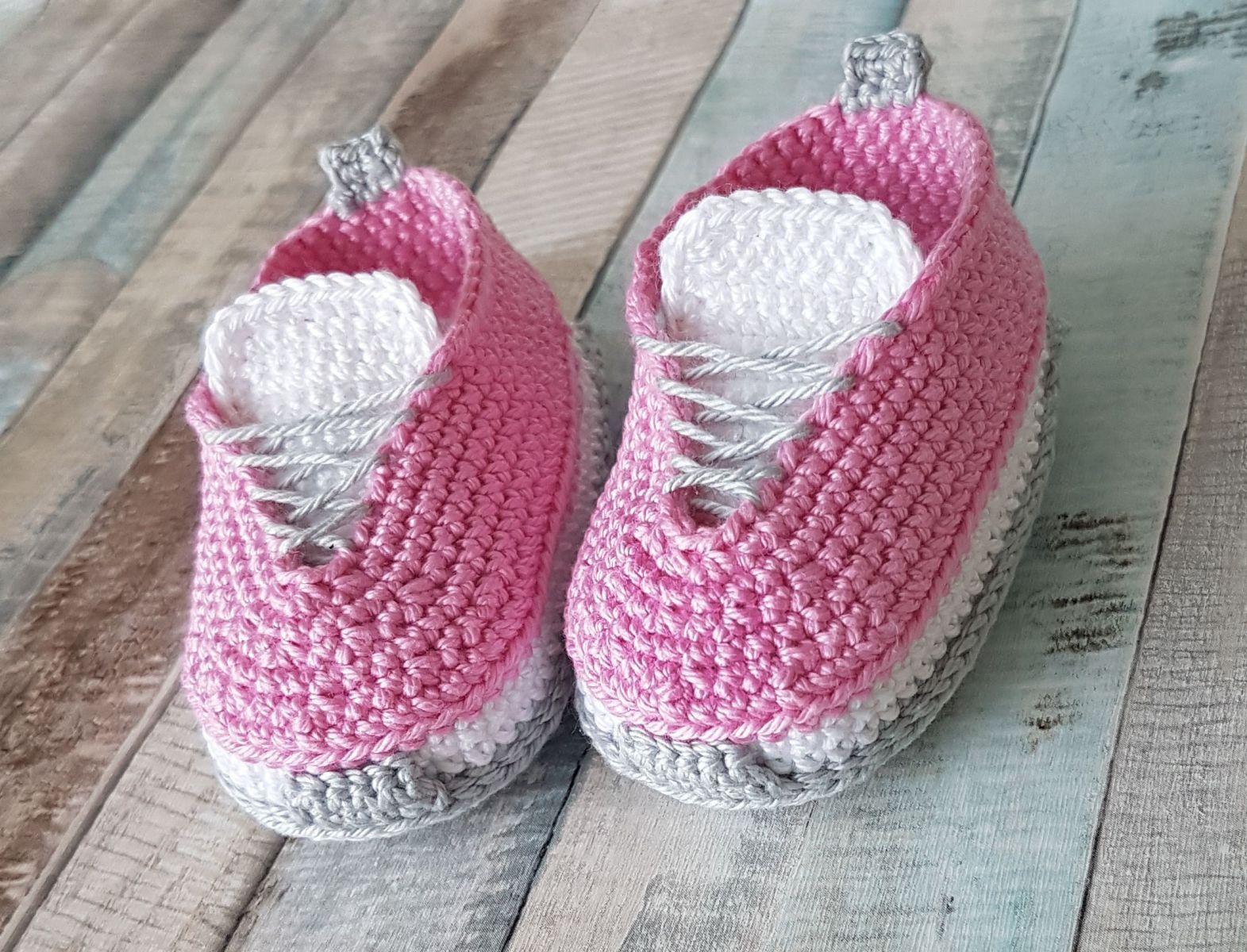Free Crochet Pattern Baby Shoes | Kasut baby crochet | Pinterest ...
