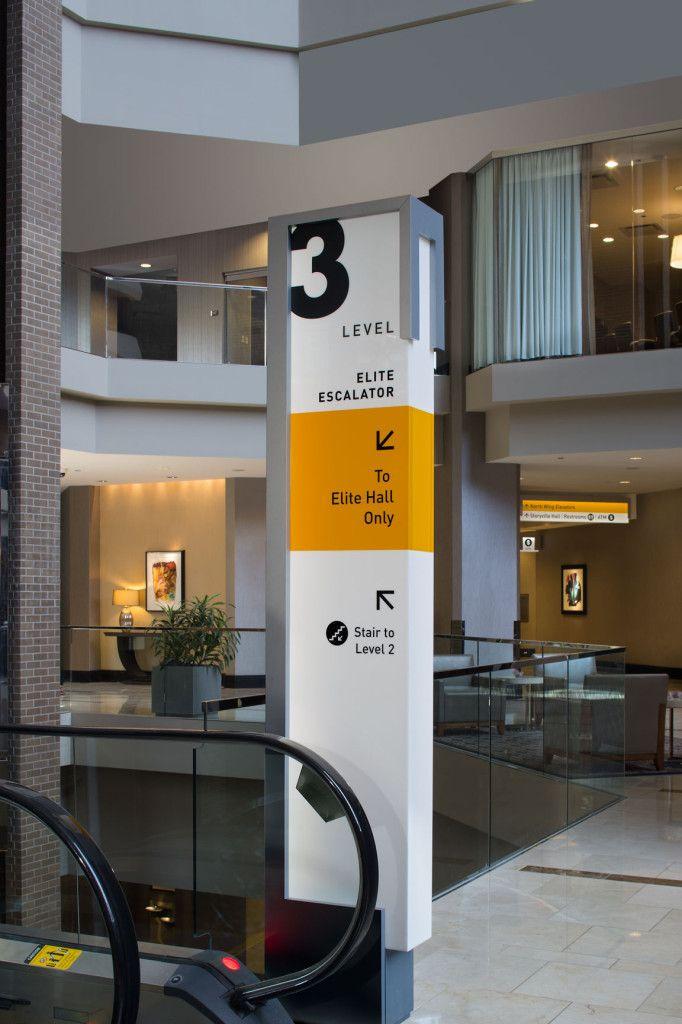 Hyatt's New Orleans signage system – Lorenc+Yoo Design
