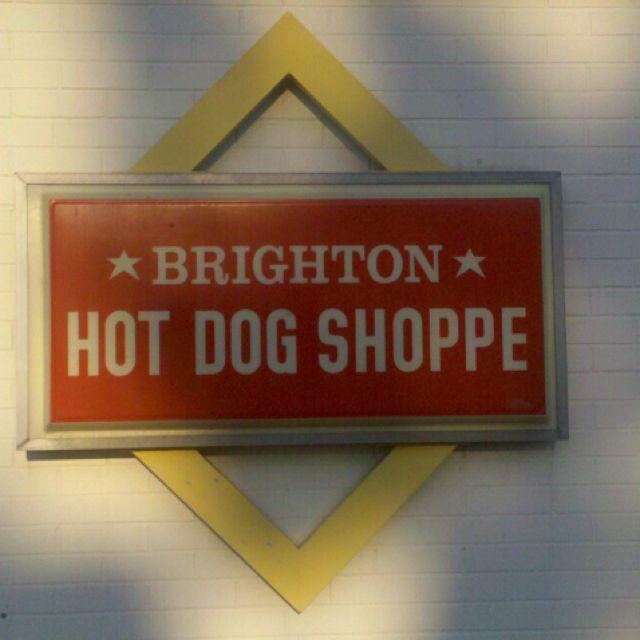 Brighton Hot Dog Shoppe Chippewa, PA..... Delish Hot