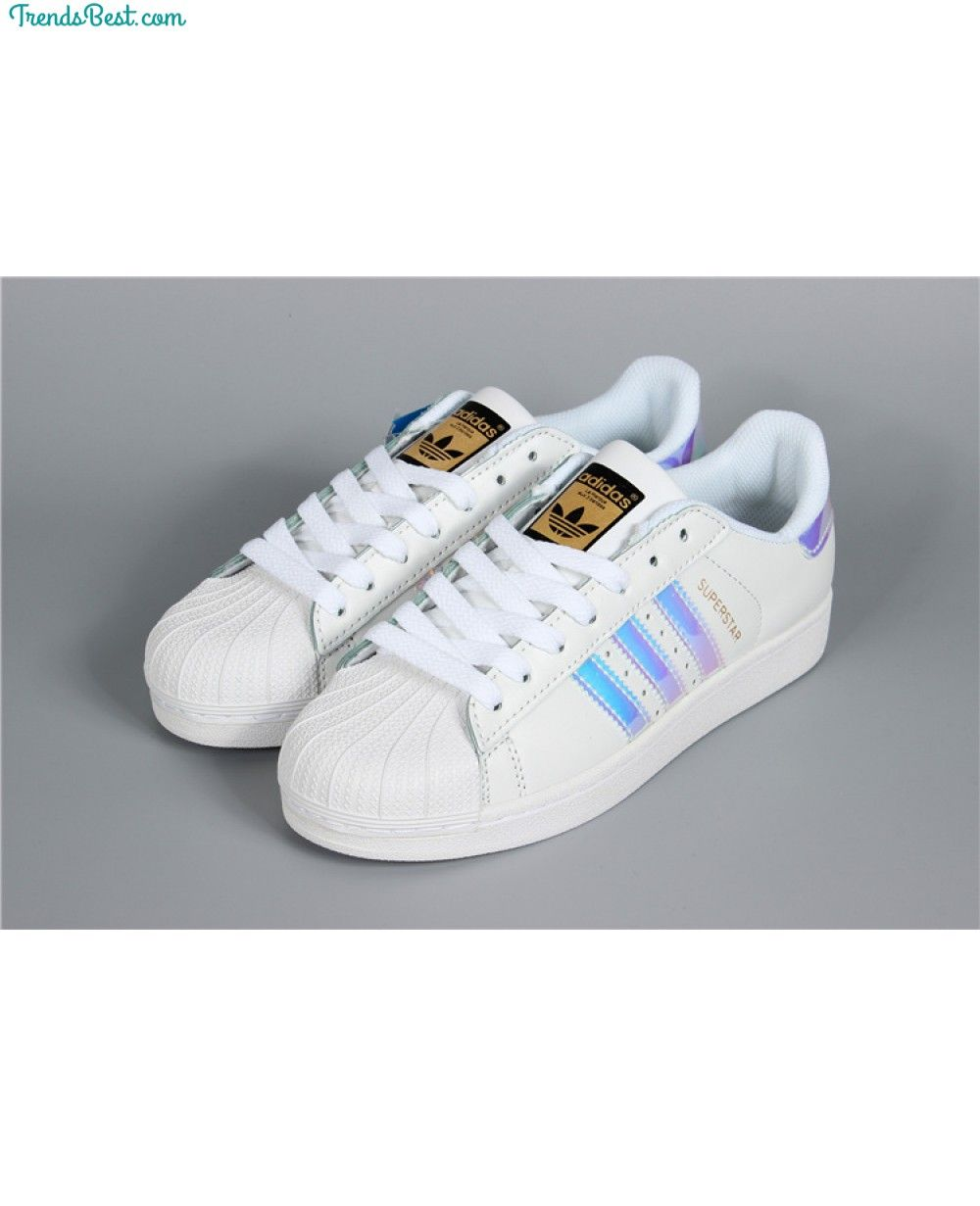 Adidas Superstar Classic White Hologram Iridescent AQ6278