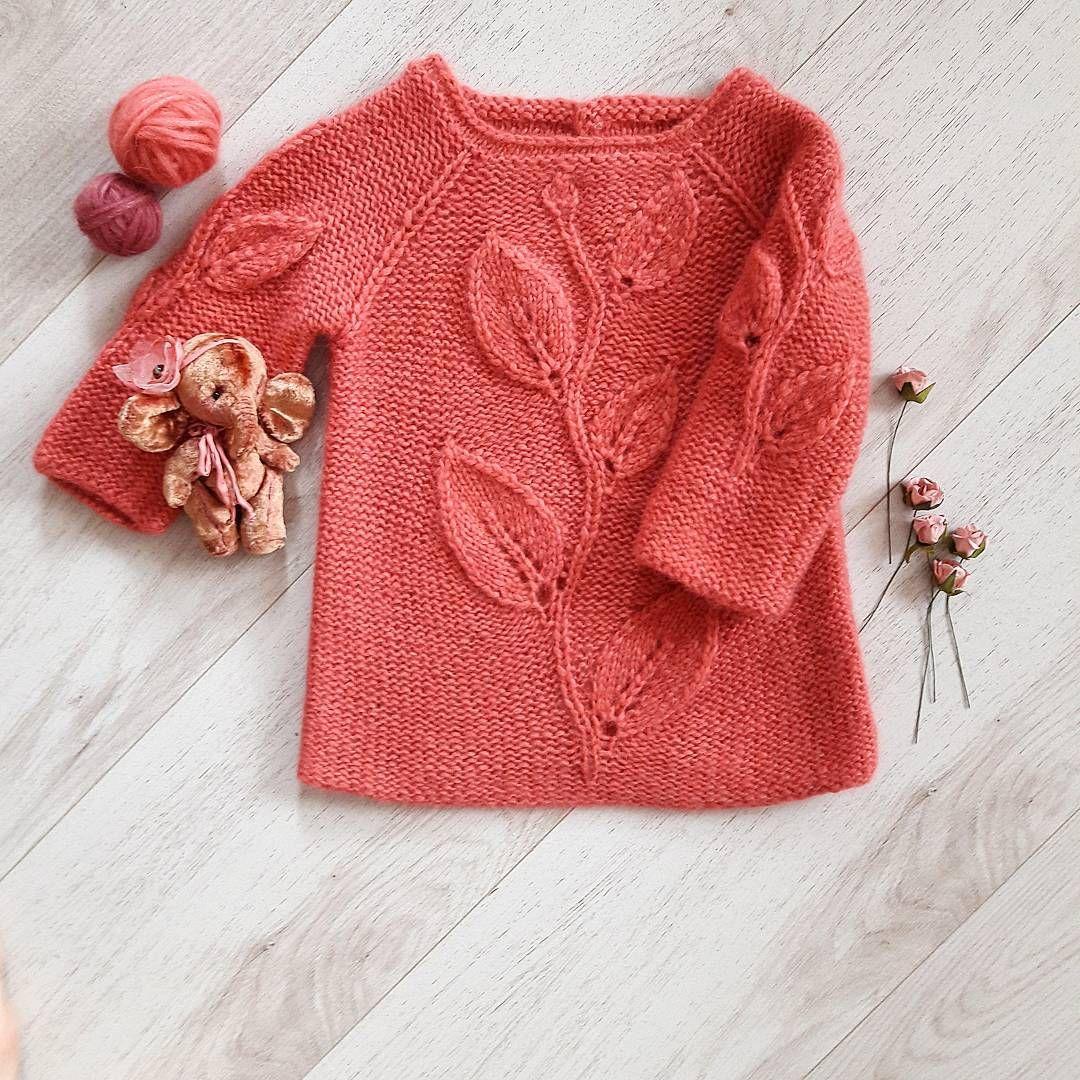 Кофточка- туника | детские одежды | Pinterest | Tejido, Dos agujas y ...
