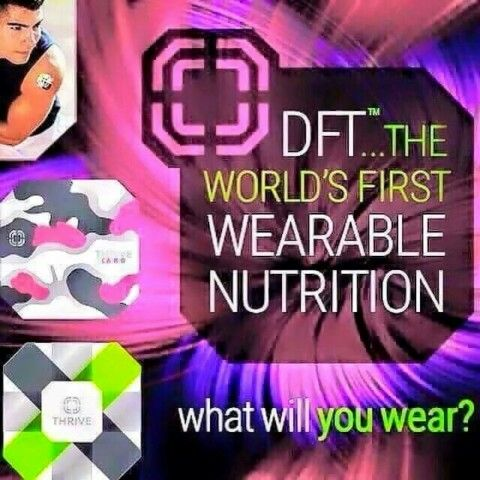 World's first wearable Nutrition. DFT Derma Fusion Technology by Thrive by LeVel. Get yours