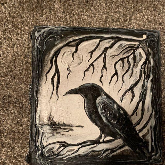 Download Black raven book Set, Magic book, Book of Shadows, Spell book, Raven Journal, Halloween wedding ...