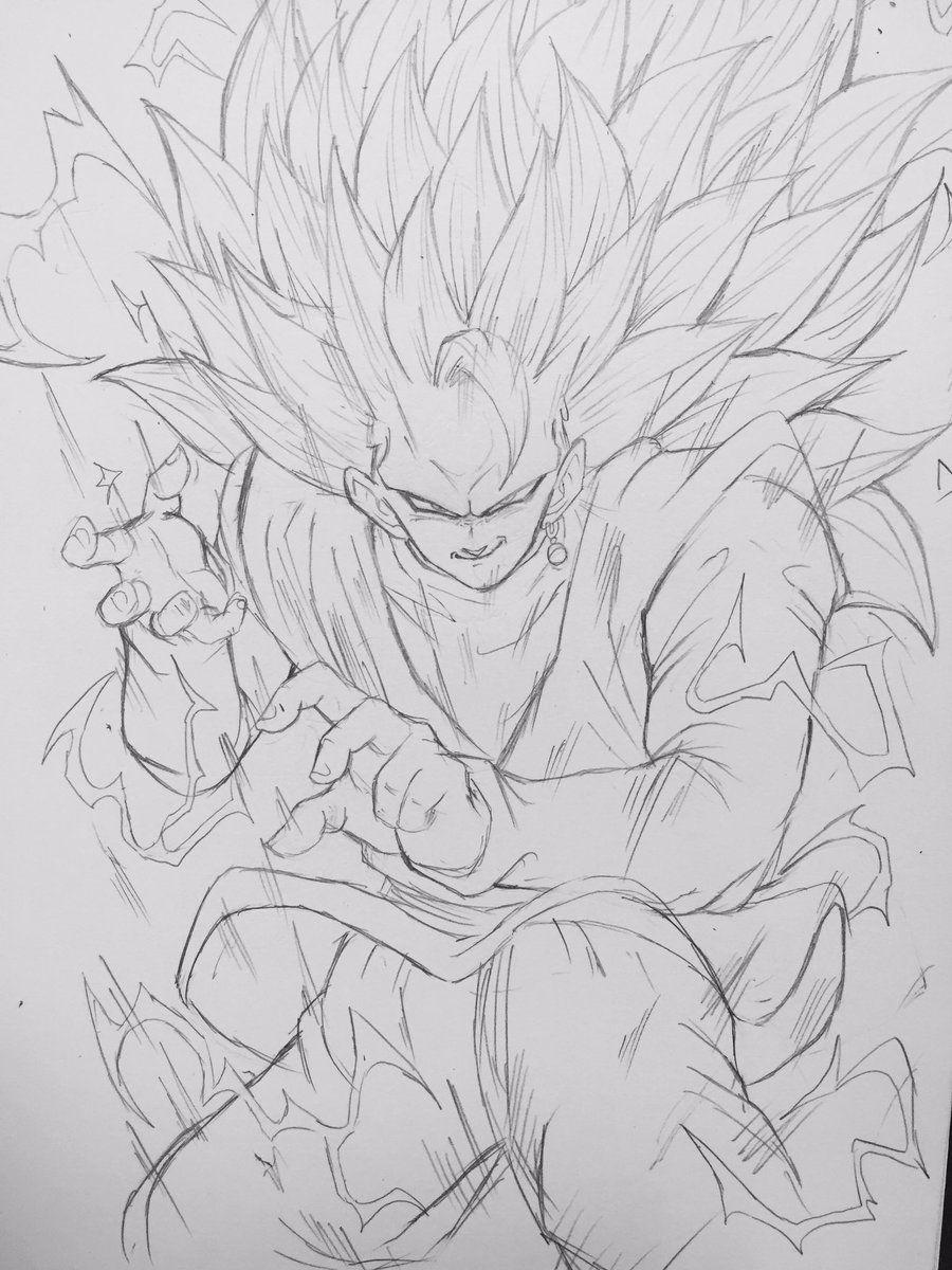 SSJ3 Goku Black | yo | Pinterest | Dbz, Dragon ball and Goku