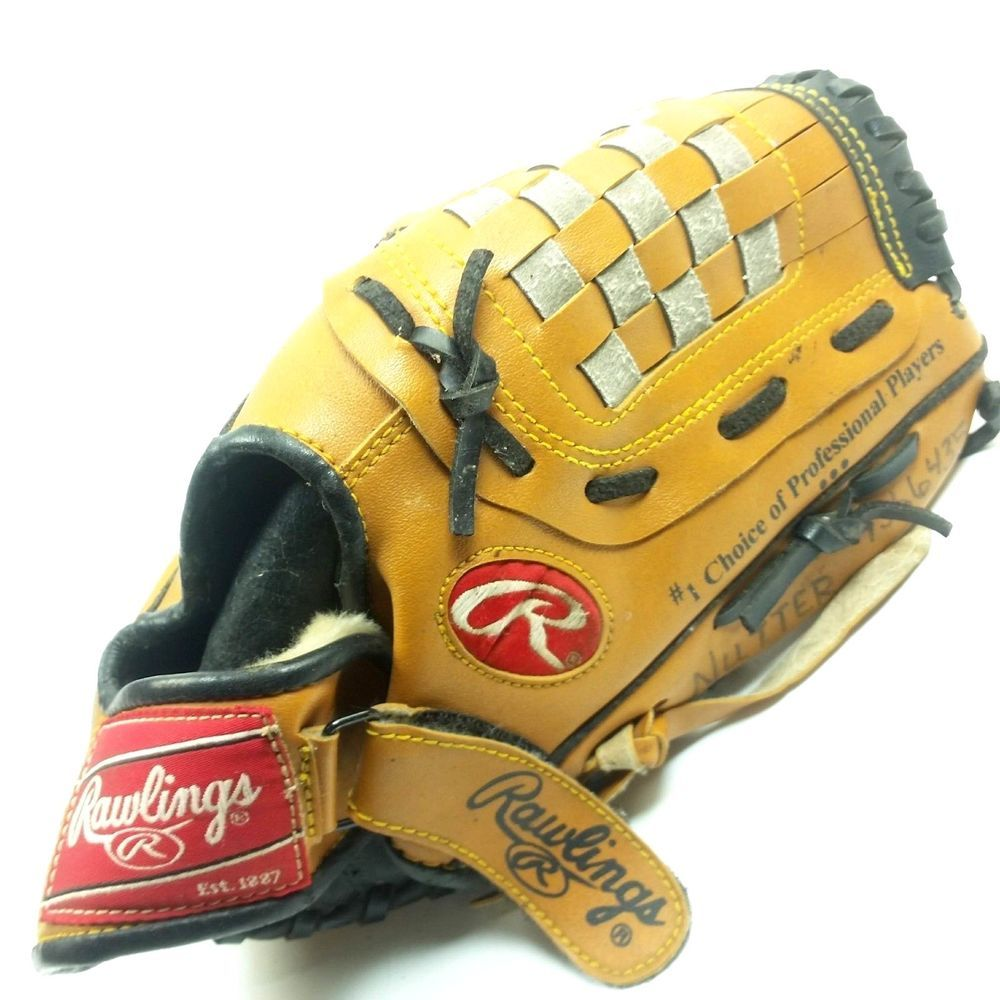 Rawlings Baseball Glove Rbg 1050 Derek Jeter Youth Right Hand Mitt 10 5 Inch Rawlings Ebay Collection