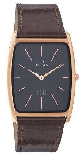 83de554abe9 Titan Men s 1514WL01 Edge Ultra Slim 3.5mm Thin Watch Titan.  288.00. One of