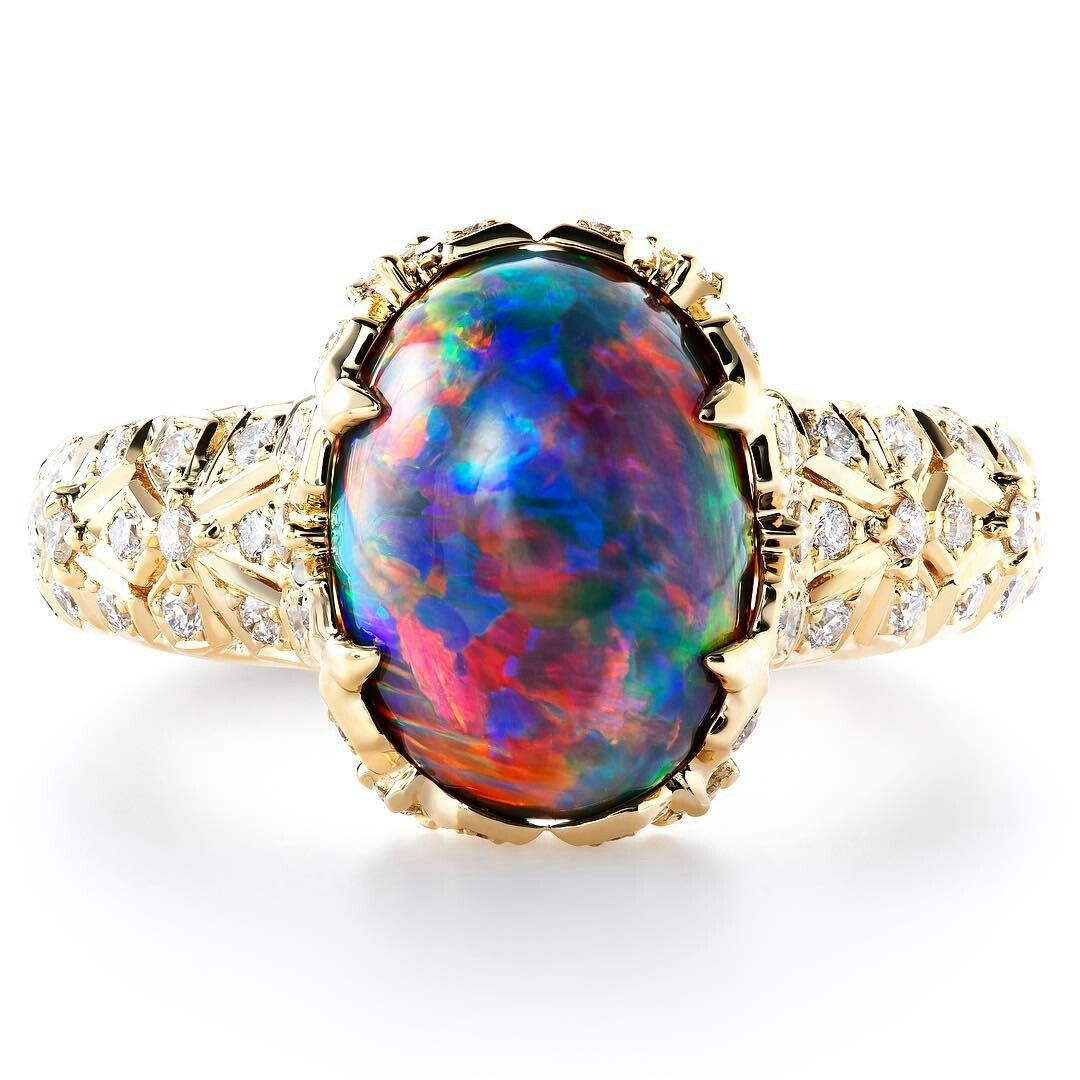 Rather than Diamonds, Black Opal from Australia's