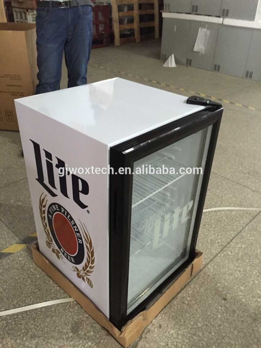 Custom 68l Glass Door Mini Fridge View Glass Door Mini