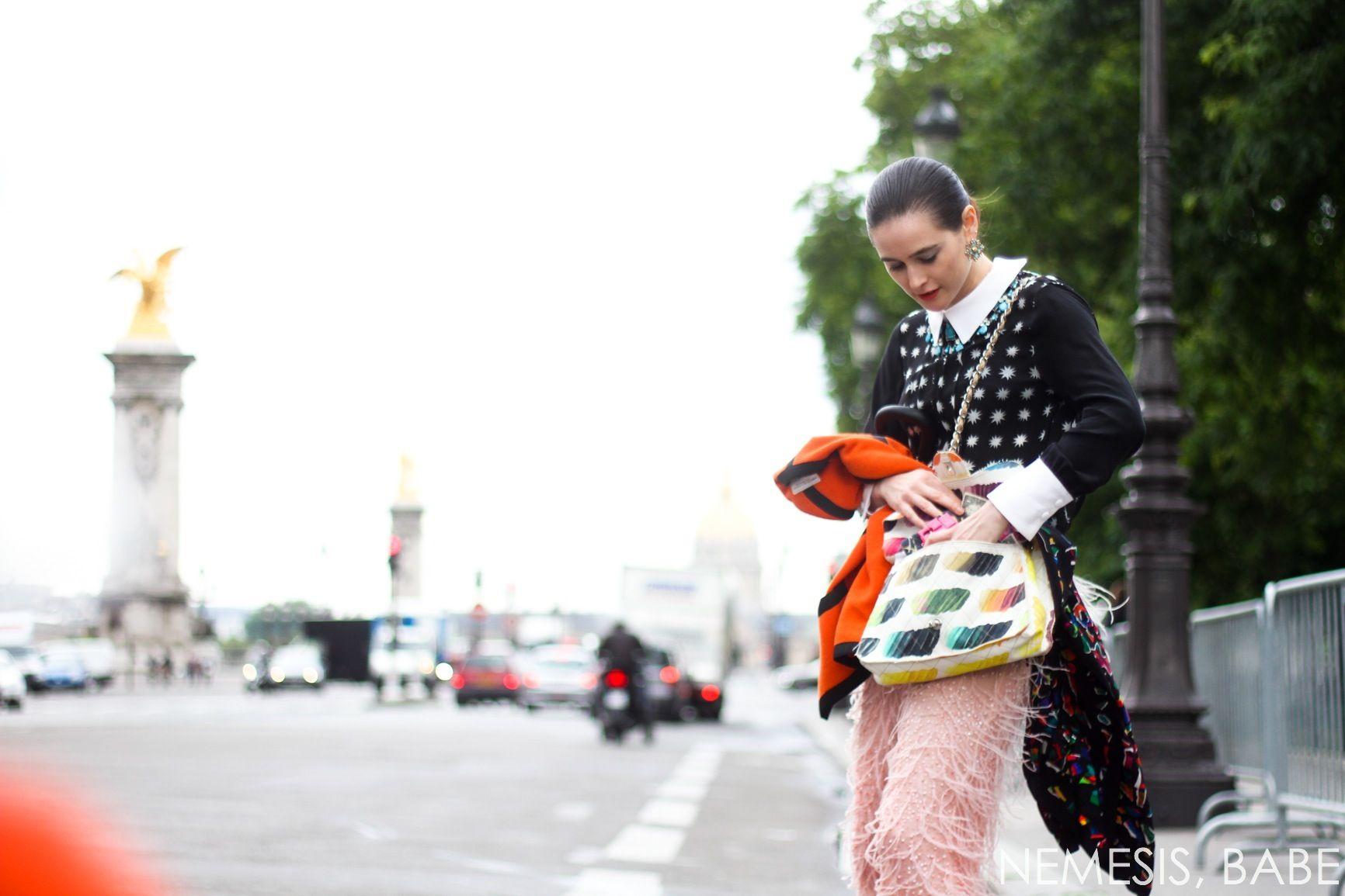 paris haute couture street style day 2 nemesis babe-17 / //pinterest: @friaaurora