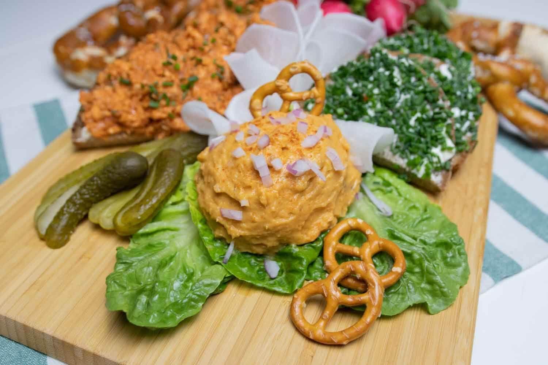 Obazda Aus Susskartoffel Rezept Rezepte Lebensmittel Essen Vegane Hauptspeisen