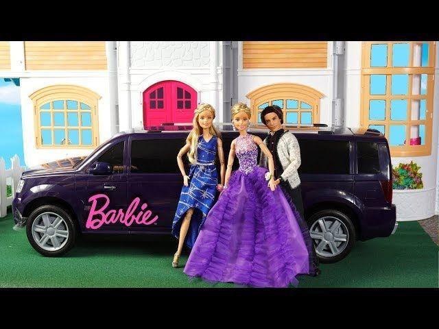 Barbie-Zwillinge bereiten sich auf den Schultanz mit Kleidern vor – Wird sie …   – Reis