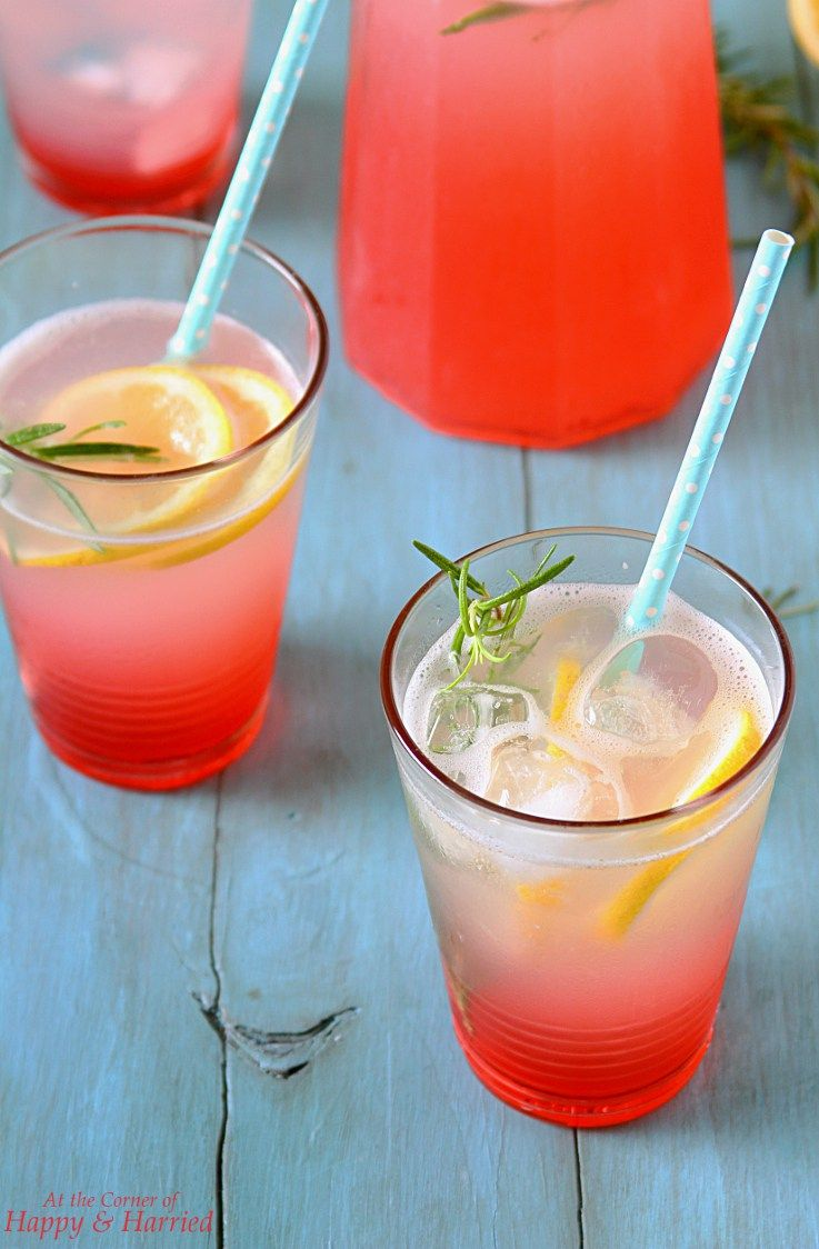 Rose Lemonade #flavoredlemonade