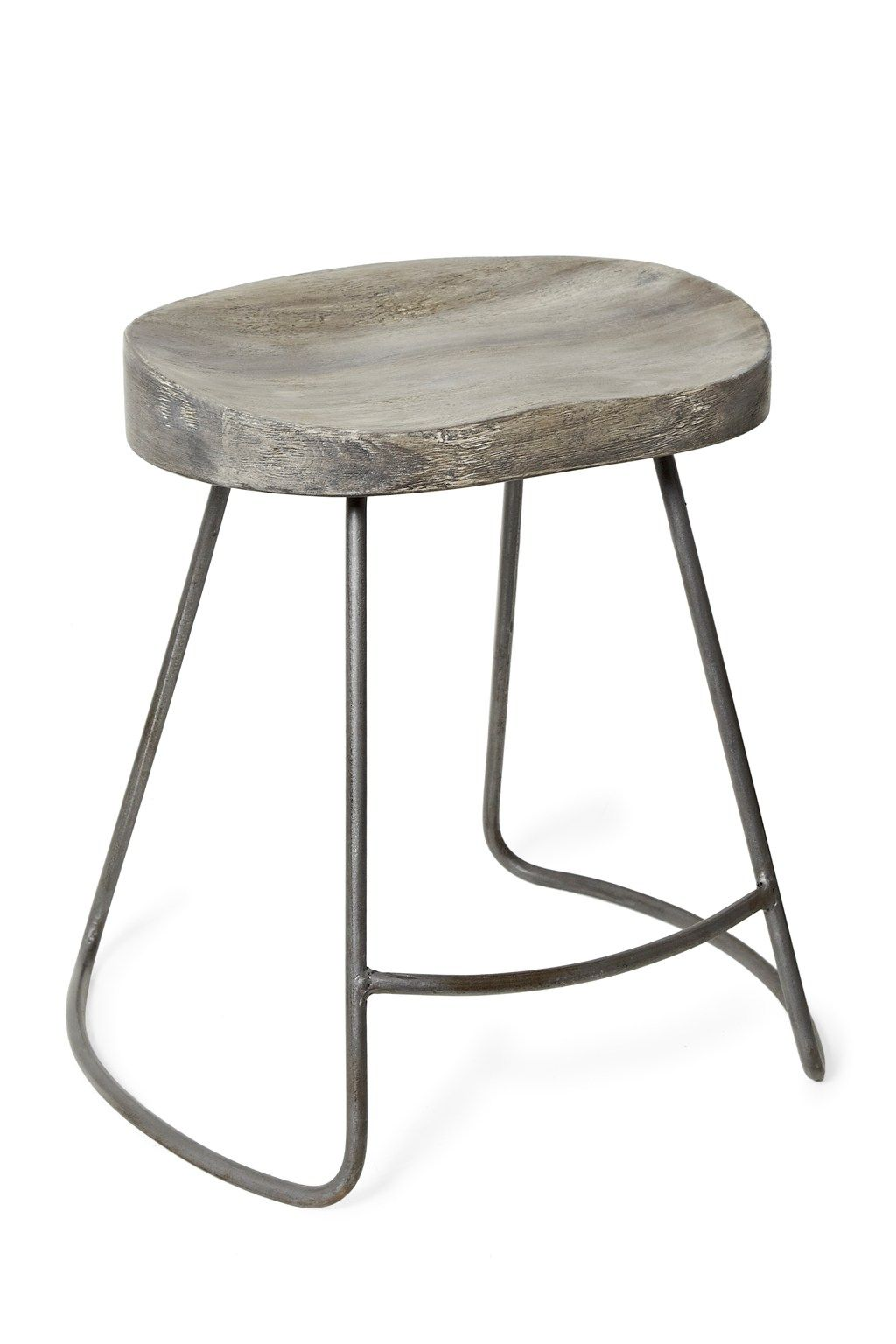 Incredible Ul Li Wood And Metal Bar Stool Li Li Salvage Grey Ocoug Best Dining Table And Chair Ideas Images Ocougorg