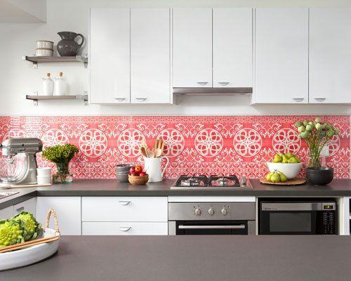 wallpaper glass backsplash cost - Google Search   kitchen ...