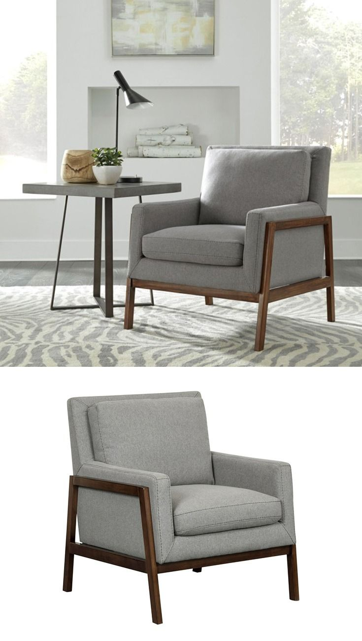 Use This Wood Frame Accent Chair To Polish Off Your Living Room Or Create Your Own Little Readin Living Room Scandinavian Eclectic Living Room Home Living Room