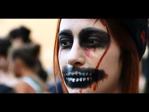 Halloween Zombie Makeup and Costume Ideas   youtube - walking dead halloween costume ideas