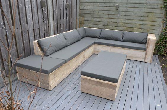 Minimalista Conjuntos Terrraza Muebles Terraza Muebles