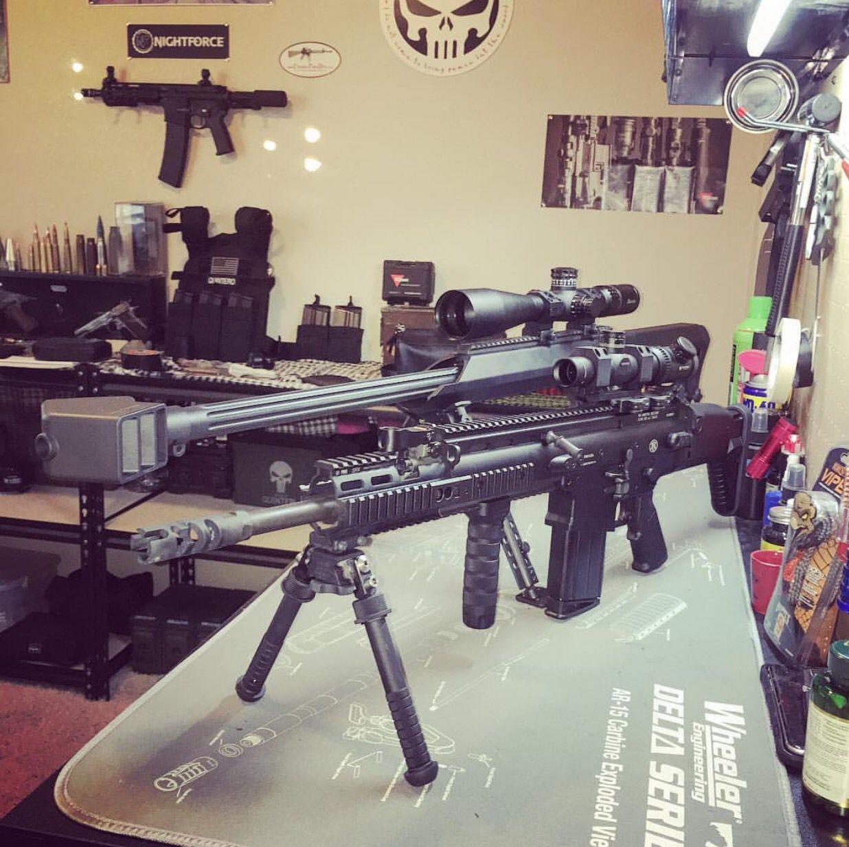 FN Scar 17 7 62x51 Vortex Viper PST Atlas Bipod Barrett M99 50BMG