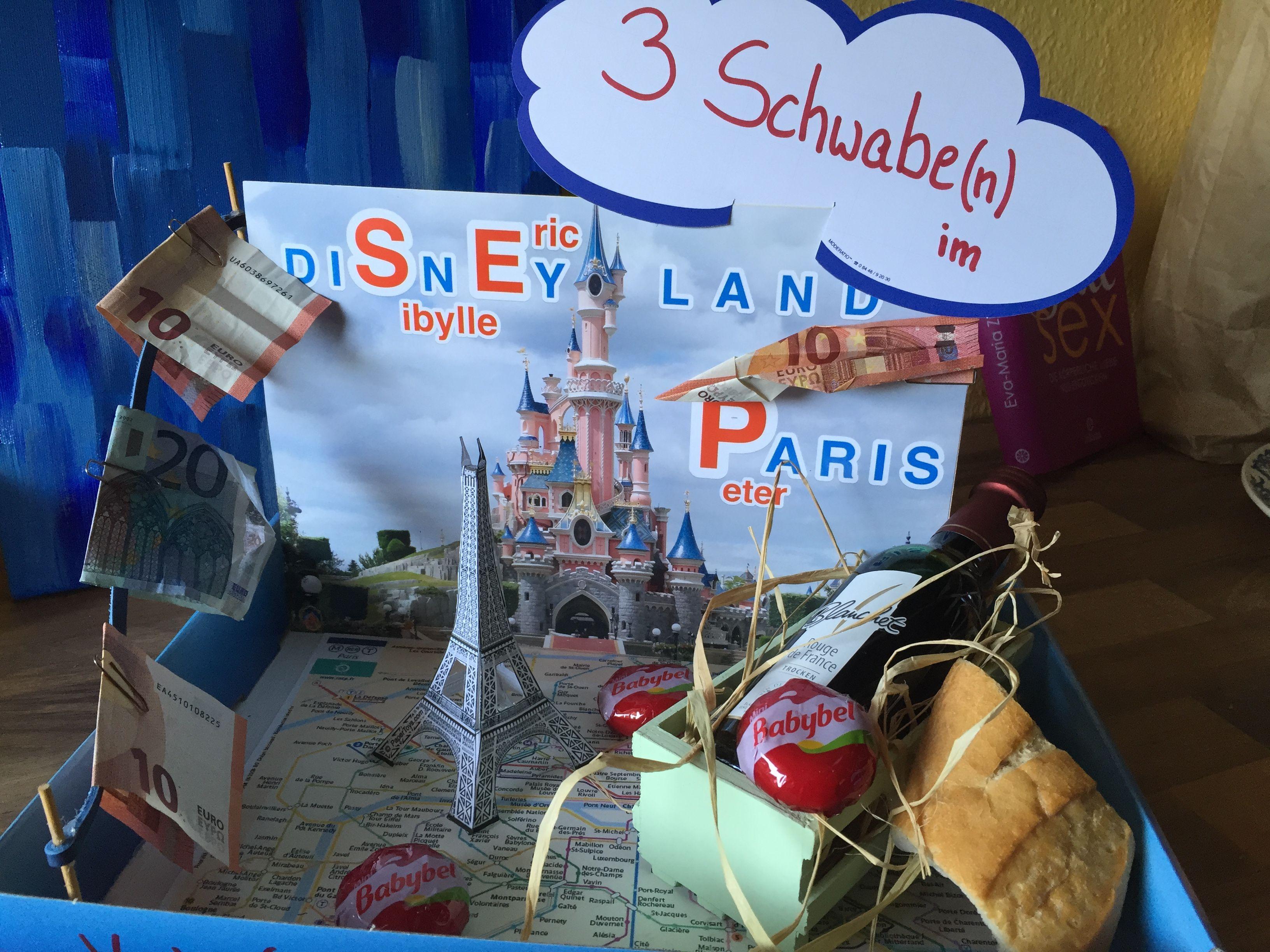 Disneyland Paris Gutschein Basteln