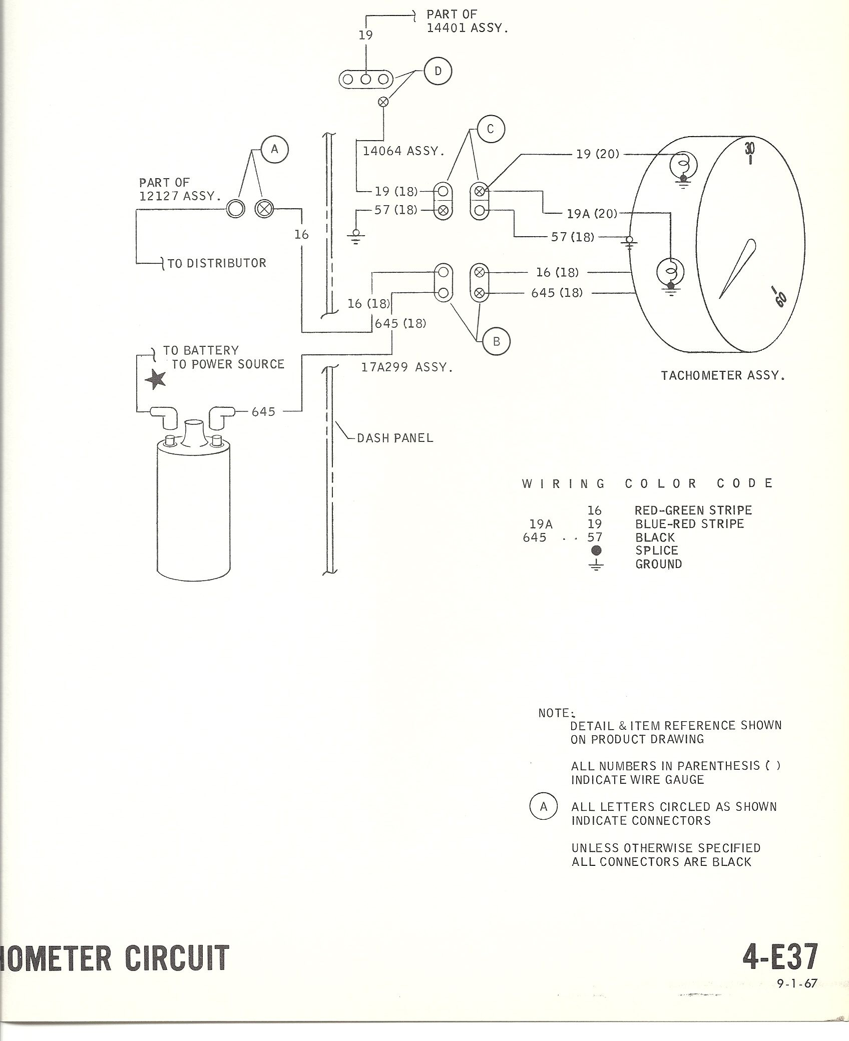 2b2f8e488a4c6a6b870c00f5af30de6c 1967 mustang wiring to tachometer mustang tachometer Ford Alternator Wiring Diagram at panicattacktreatment.co