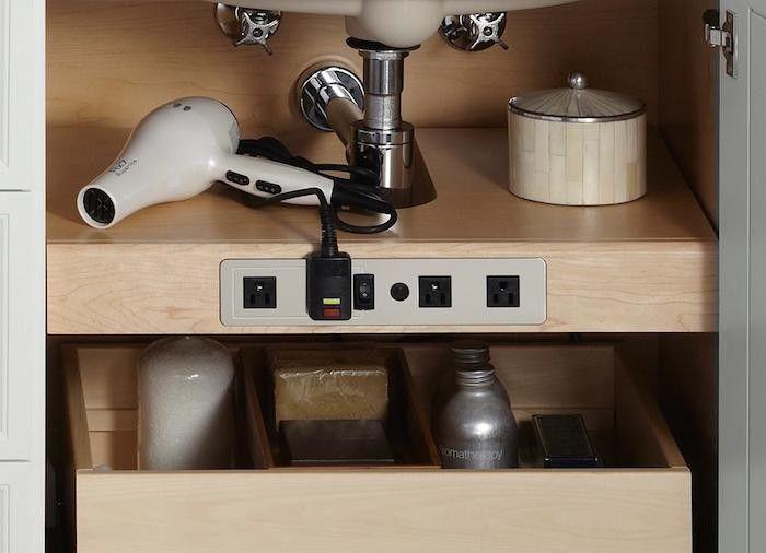 Kohler Tailored Vanity Electrical Outlet Shelf Remodelsita