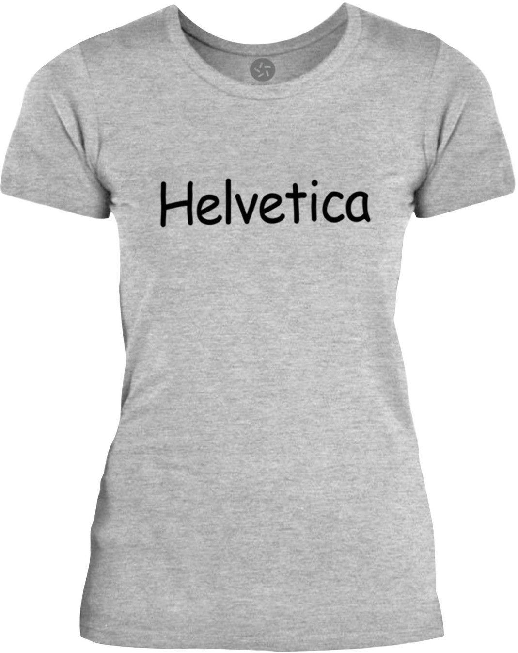 Big Texas Helvetica Comic Sans (Black) Womens Fine Jersey T-Shirt