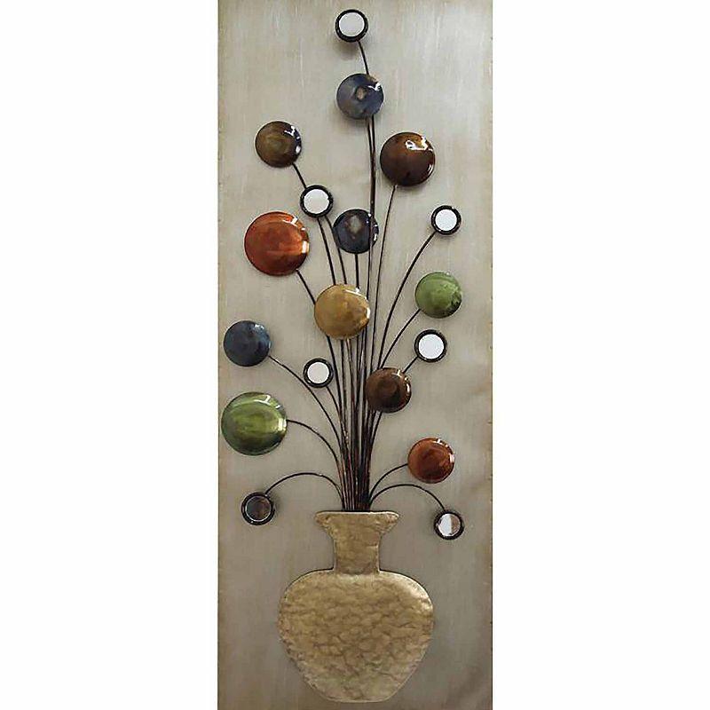Flower Vase Ii Metal Wall Dcor Metal Tree Wall Art Flower Wall