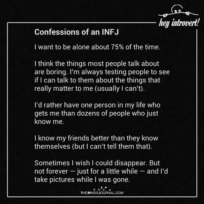 Infj Spot Female To An How