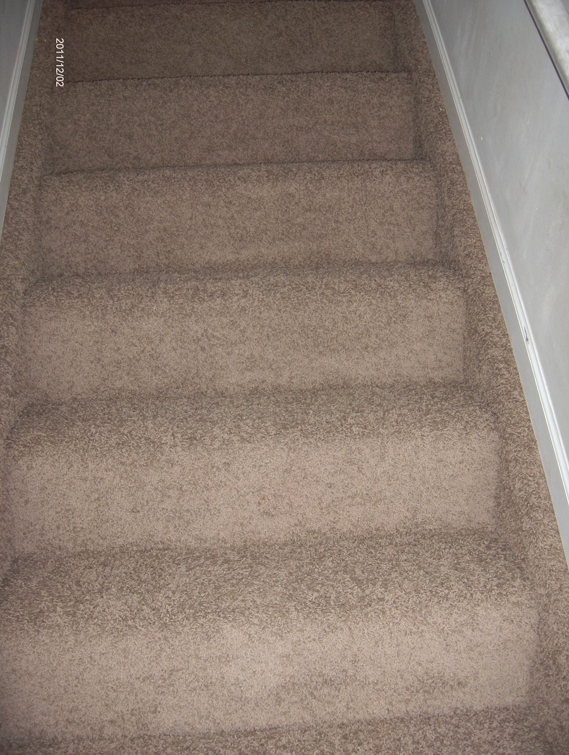 Stairway Carpet With Mohawk Including Steps And Stringers