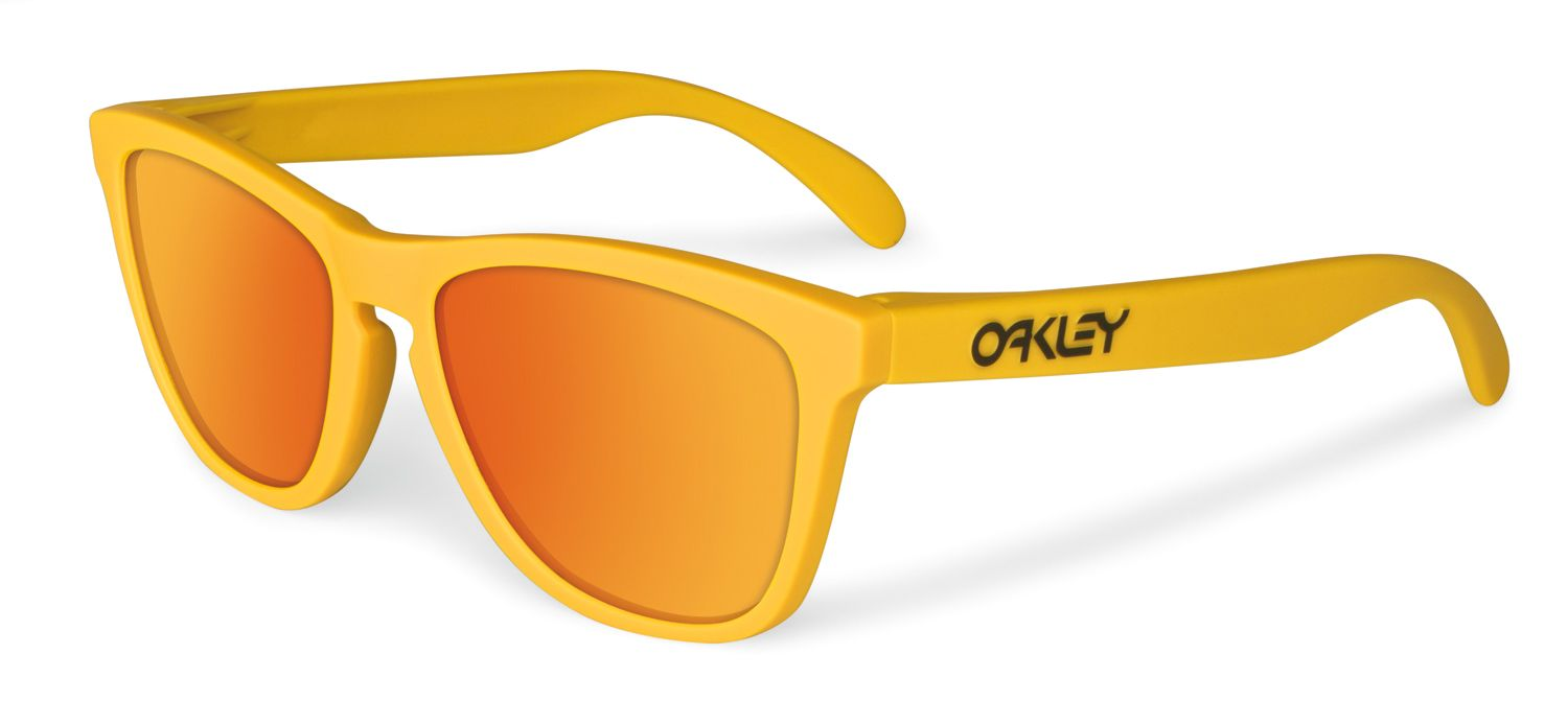 518925e678 LIMITED EDITION FROGSKINS SUMMIT COLLECTION: Pikes Gold/Fire Iridium #Oakley  #Frogskin #Froggies #sunglasses #yellow #gold