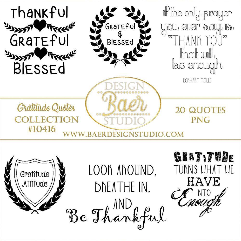 Baby scrapbook ideas quotes - Gratitudes Quotes Thankful Quotes Inspirational Quotes Thanksgiving Quotes Smash Book Art Gratitude Word Art Photo Overlays 10416