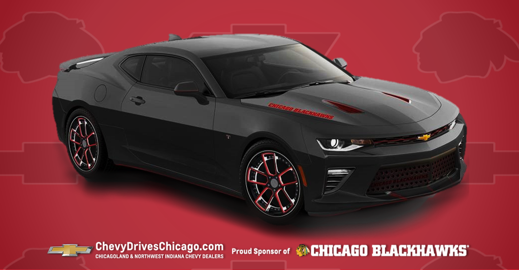RT https://t.co/i7AYM1BJK7 You could #win this custom-designed Chicago #Blackhawks-themed Chevrolet Camaro.  https://t.co/0r55qHnBfa