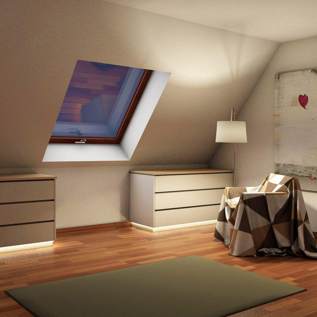 B Schlafzimmer Dachschr臠e