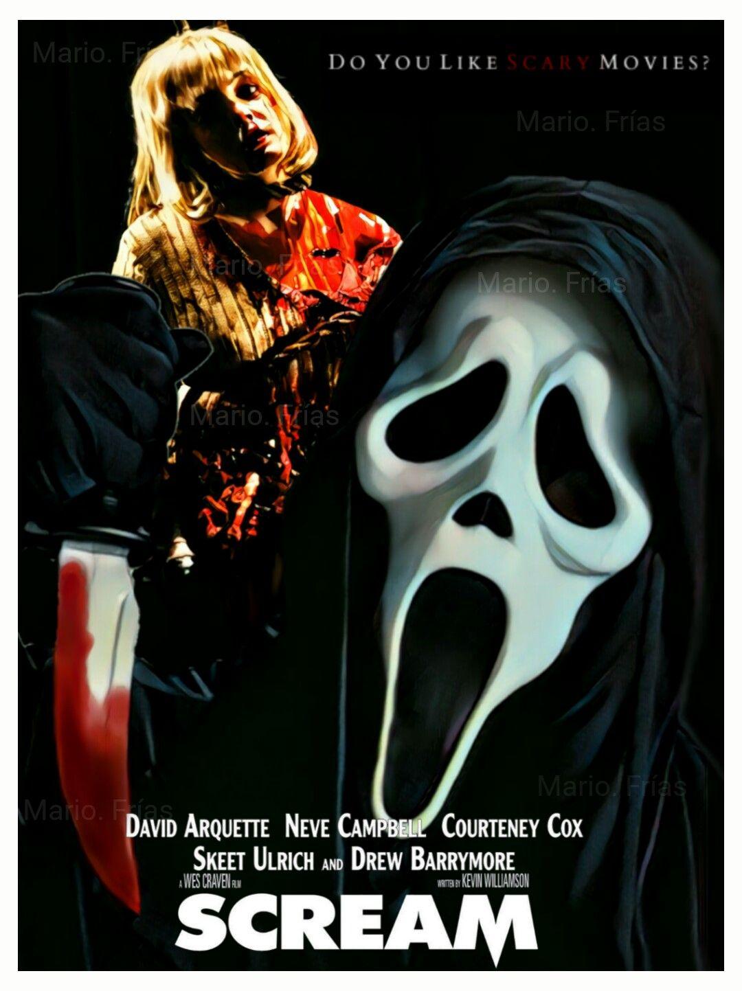scream 1996 edit by mario fr237as movie posters sci fi