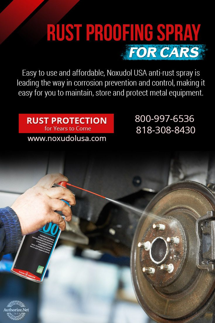Rust Protection Products Eco Friendly Rust Proofing Spray Protection Prestige Car