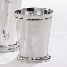 Godinger Beaded Silver Mint Julep Cup |