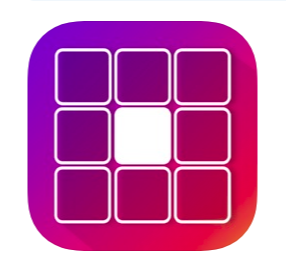 Free app that lets you crop photos to make stylized grid