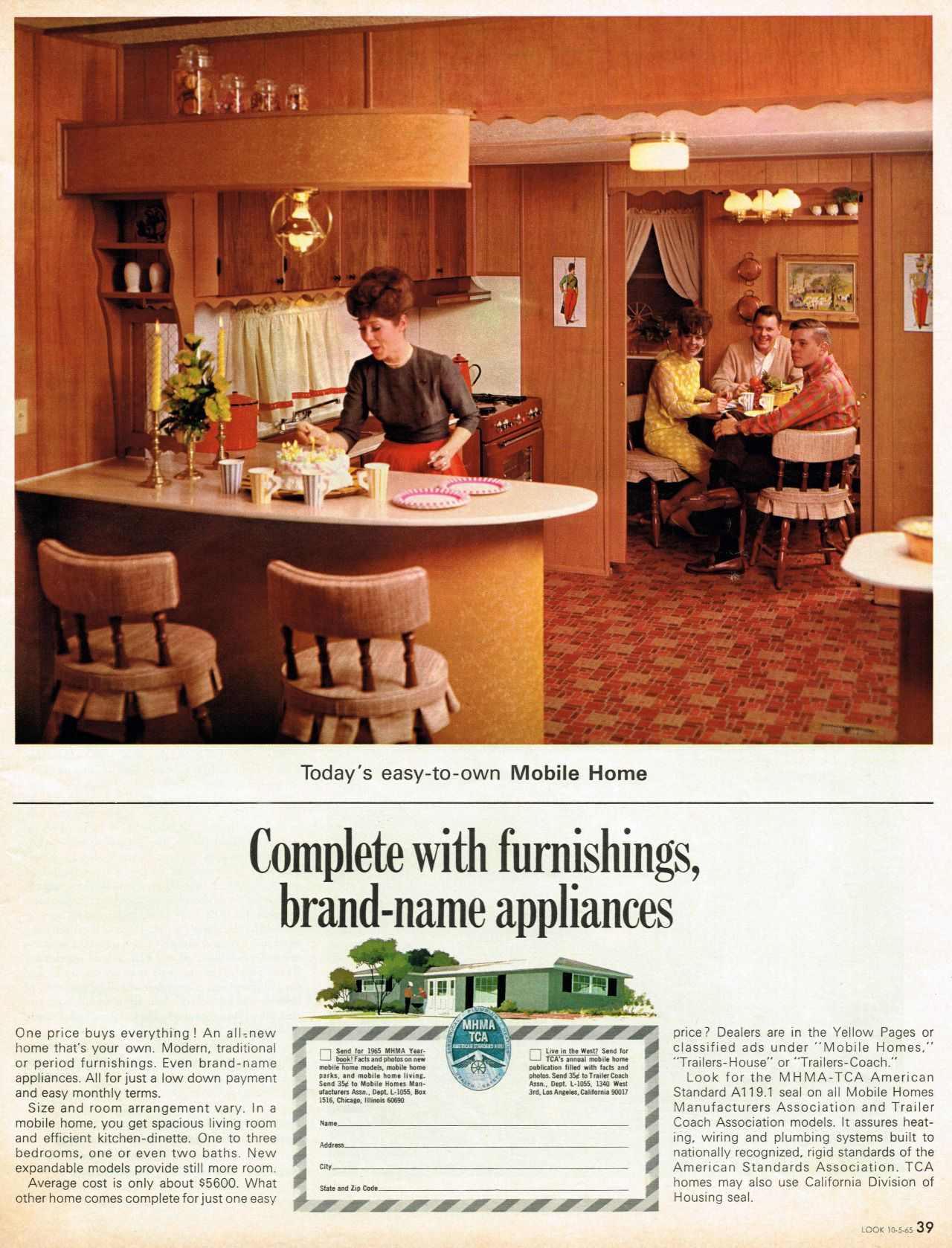 Mobile Homes Manufacturers Association October 1965