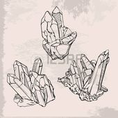 Hand drawing crystals set. Crystal gems sketch illustration  hand drawing crystals set crystal gems sketch illustration Stock Vector    This image has get 4 repins.    Author: 7Sommer #Crystal #Crystals #Drawing #Gems #Hand #Illustration #Set #sketch
