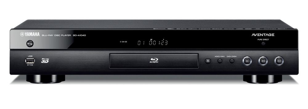 yamaha bd a1040 blu ray player blu ray players. Black Bedroom Furniture Sets. Home Design Ideas