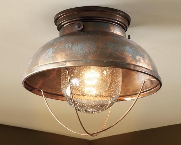 Shades Of Light Nantucket Ceiling Light Rustic Ceiling Lights