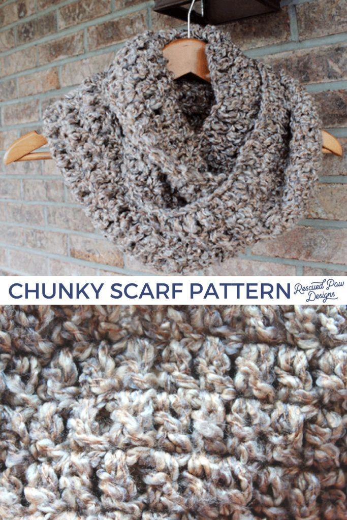 Simple Crochet Scarf Pattern for Beginners - EasyCrochet.com