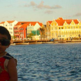 Willenstad. Curazao. Hermosa isla del Caribe. una de las Antillas Menores